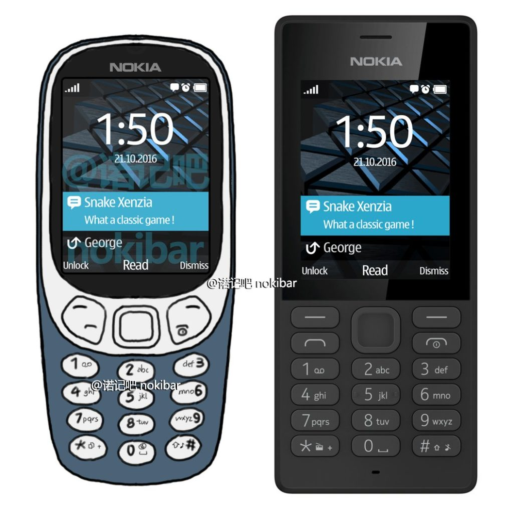 A Fan Made Nokia 3310 Render Is Close To The Real Thing Nokiamob 2016 Long Term Chinese Follower And Leakster Nokibar Of New Based On Information We Already Know About