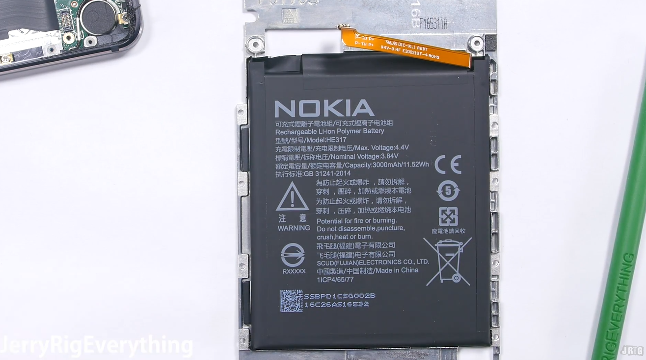 Nokia 6 Amazes In Build Quality Repair Review Gets Called Tank