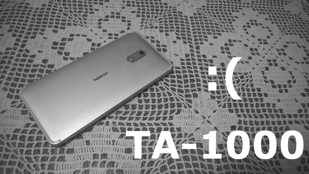 HMD explains why you shouldn't buy #Nokia 6 TA-1000 outside