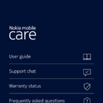HMD's Support or Nokia mobile Care app available in Google