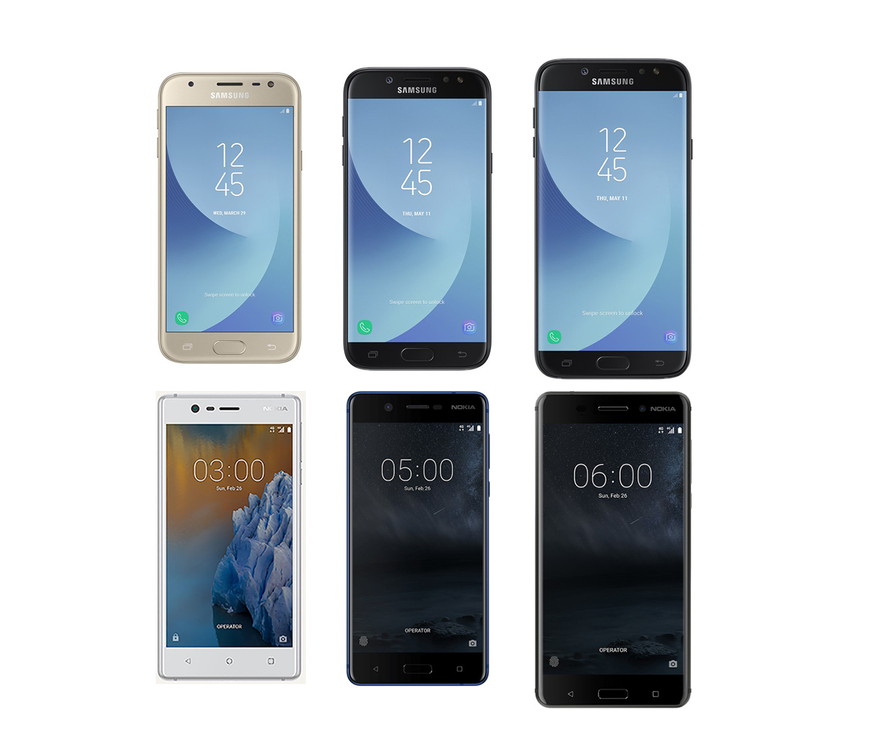 This Week Samsung Introduced A Refresh To Their Low End J Series Of Devices Introducing The New J3 2017 J5 And J7 These