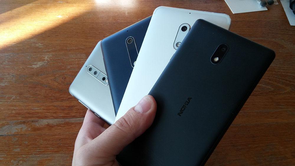 Nokia captured 1 1% of the smartphone market in Q1 2018