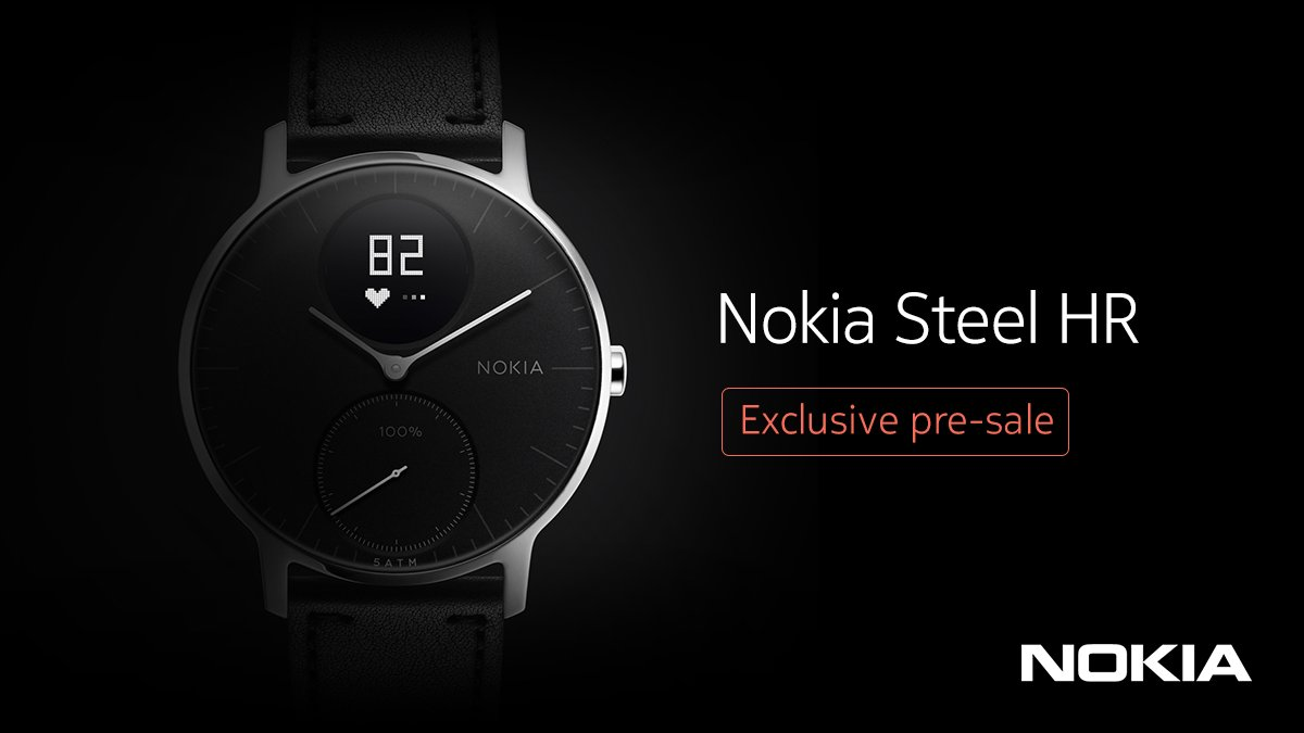 Do You Remember Nokia Steel HR A Semi Smart Watch From That Has Tiny Circular Display And Can Measure Hearth Rate Well If Are Going To