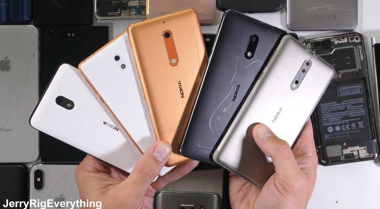 JerryRigEverything recommends any Nokia smartphone for