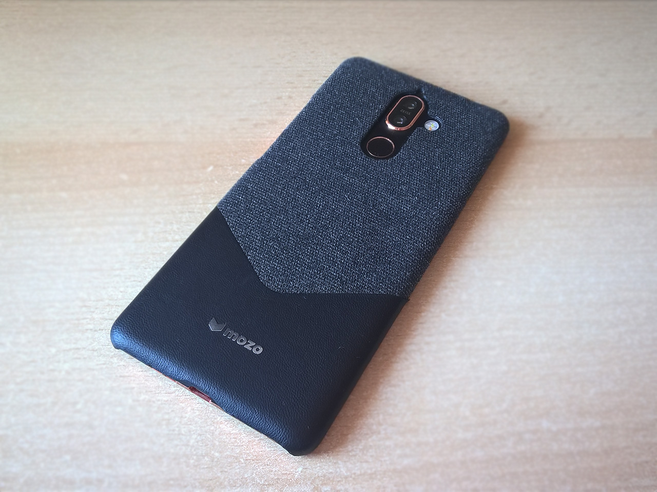 cheap for discount d40f9 a55b5 Review: MOZO Fabric and leather case for Nokia 7 plus | Nokiamob