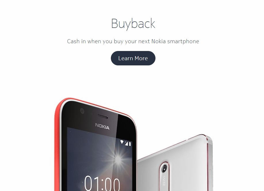 8914d3cb5 Nokia is willing to buy back your old Nokia phone while you are buying a new  one.