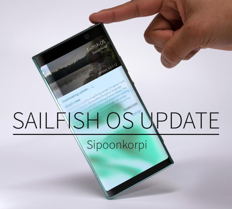 Sailfish OS Sipoonkorpi available for all of the sailors | Nokiamob