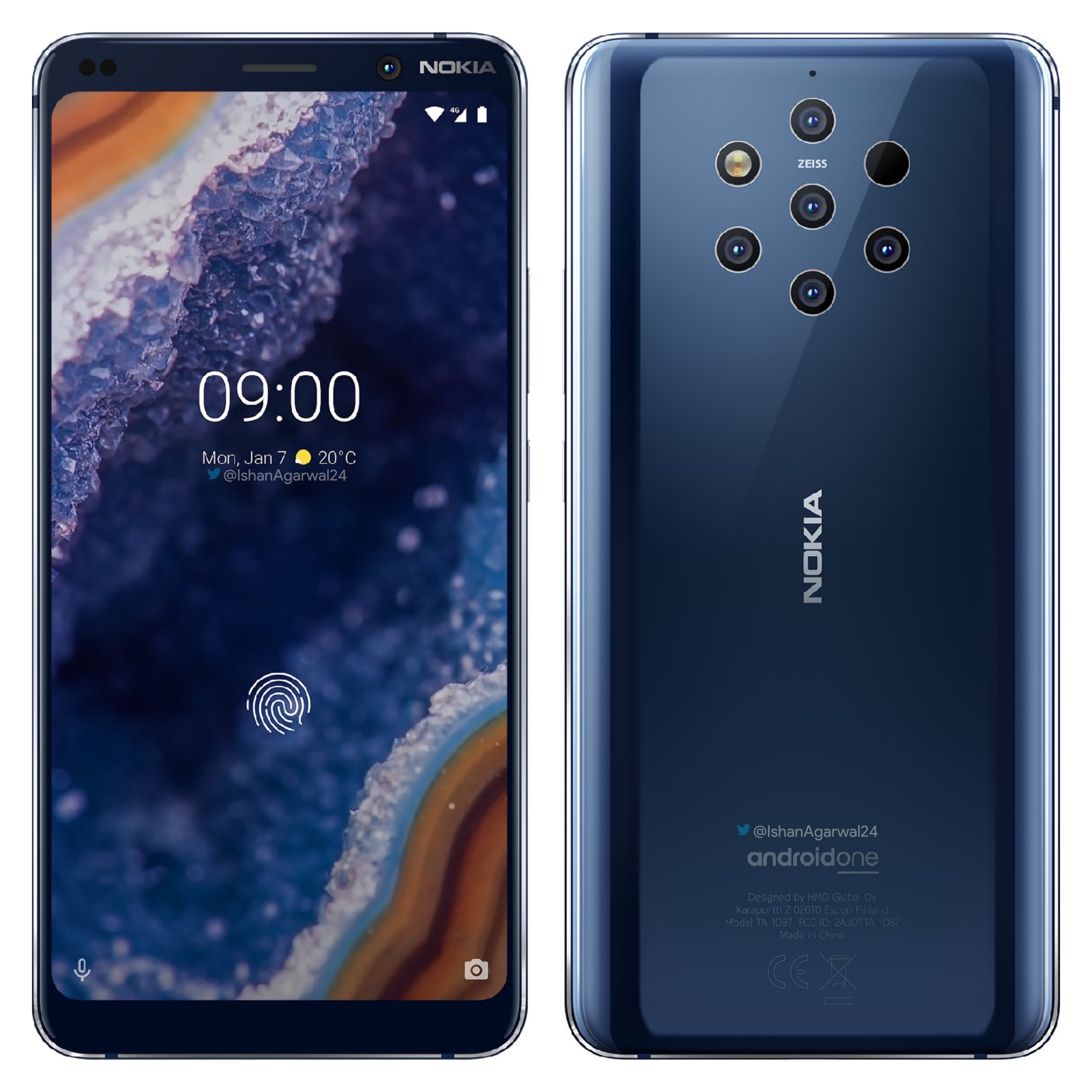9 Latest News: Leak: New Nokia 9 Renders + Rumors About Nokia 4.2, 3.2
