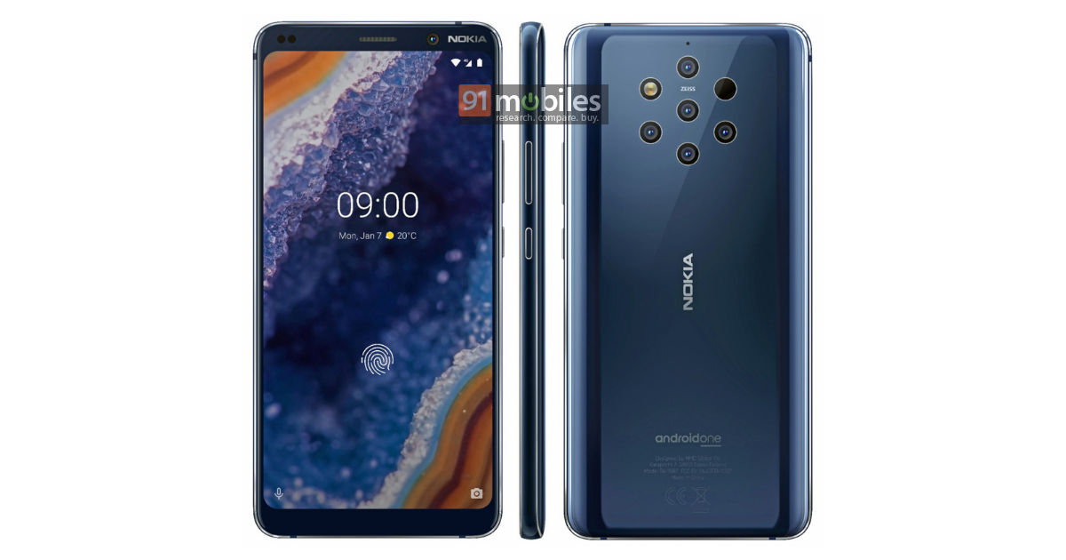 New Nokia 9 PureView render leaked | Nokiamob