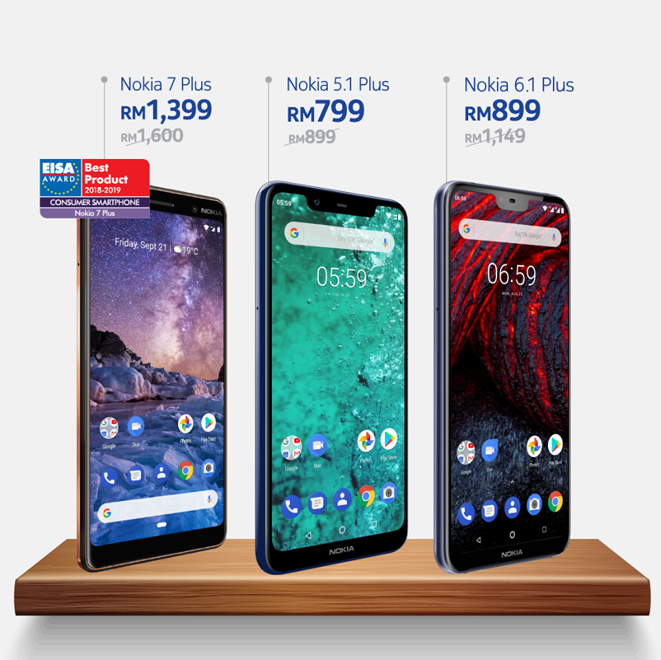 Nokia Mobile has a grand sale in Malaysia offering up to 28% off of