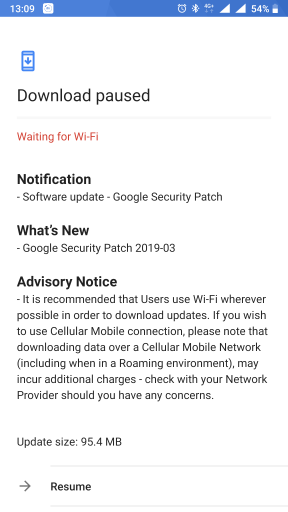 Delayed March (2019) security update rolling out for Nokia 8