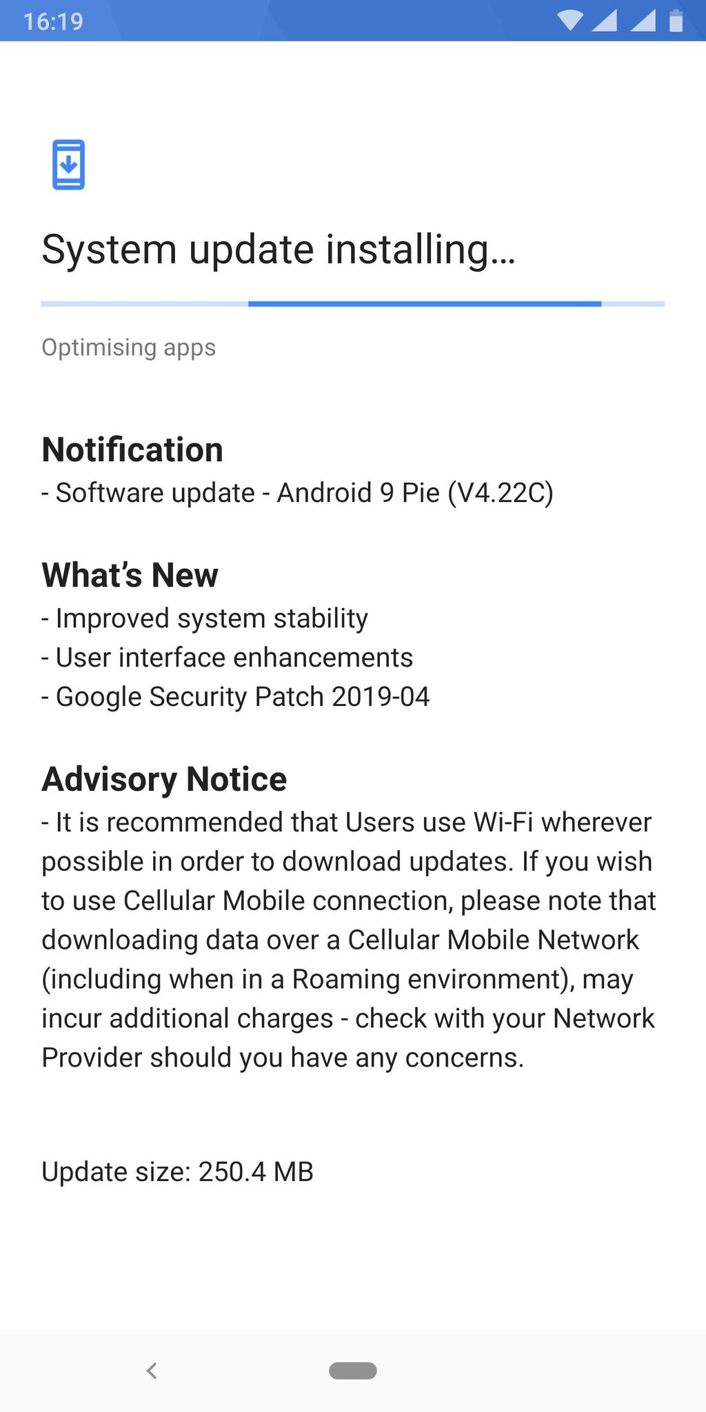 Nokia 9 PureView received Android 9 Pie build update that