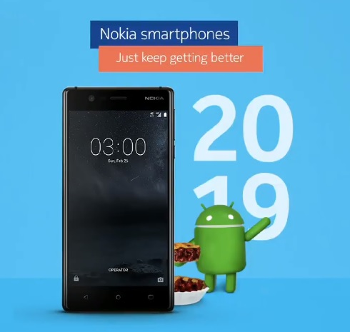 Nokia 3 finally picks up Android 9 Pie update