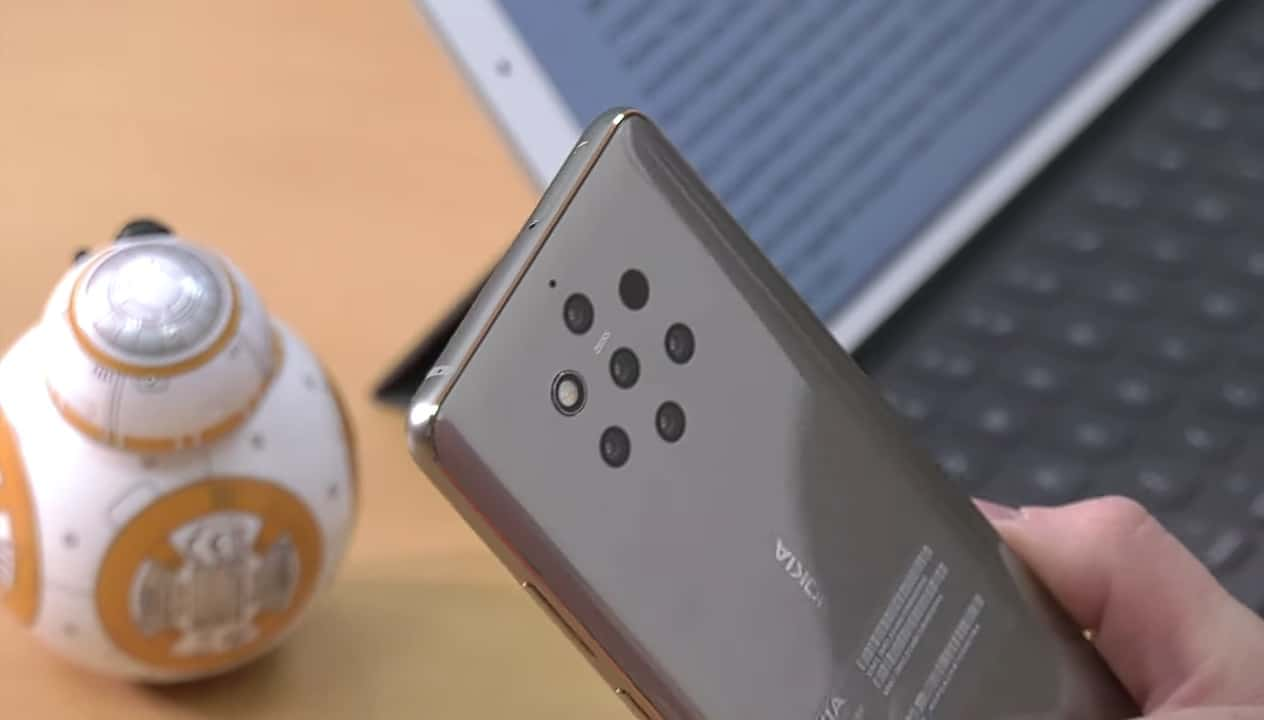 Gray Nokia 9 PureView appears in 17-minute video review