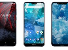 Nokia 6.1 Plus, Nokia 7.1 and Nokia 8.1