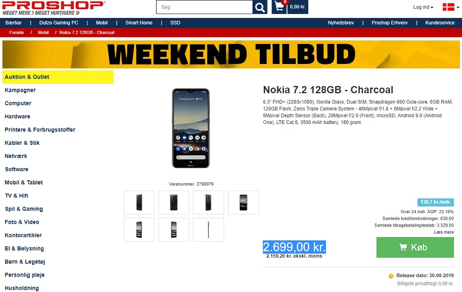 Nokia 7.2 and Nokia 6.2 available for preorders in Denmark and the Netherlands - Nokiamob thumbnail